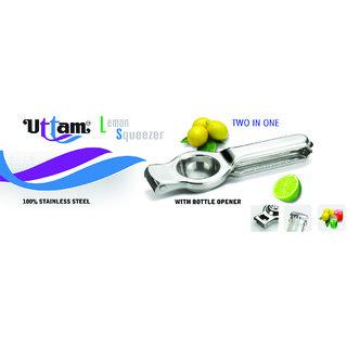Uttam Brand Lemon Squeezer With Bottle Opener