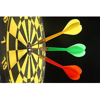 Dart Board With Darts Game Indoors And Outdoors Play Best Deal..... Free Shipping