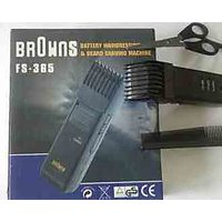 BROWNS Electric Rechargeable Trimmer fs385