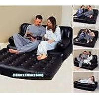 5 In 1 Air Sofa Bed, Sofa Cum Bed With Air Pump + Allum Wallet Free
