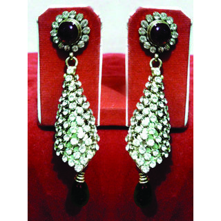 Beautiful Pair Of Earing With Lovely Stones