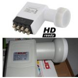 Solid Ku-Band 8 Output LNB For Multi Set Top Box In Single Dish