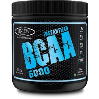 Sinew Nutrition Instantized BCAA 211 400gm/0.88lb (Unflavoured)