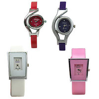Glory 4 PIECE COMBO WATCHES FOR WOMEN By 7Star