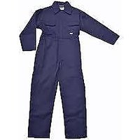Industrial Uniform Boiler Suit Protective Coverall Body Protection Blue