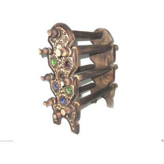 Wooden Handicraft Bangle Stand