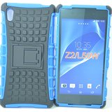 New Anti Shock Flip Stand Armor Rubber Bumper Case For Sony Xperia Z2 BL&BK