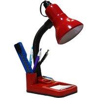emquor classic red study lamp