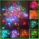 Deewali Festival Light - 120 LED Bulbs -Color: Multicolor-Red+Orange+Green+Blue