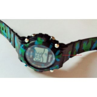 Army Watch With Changing Lights And Colors And Sounds