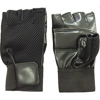 Black Gym Gloves