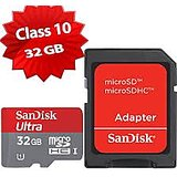 SanDisk Ultra 32GB Class 10 Memory Card With SD Adapter Free Home Delivery