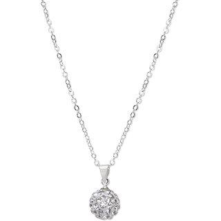 Silver Splendour Pendant Necklace
