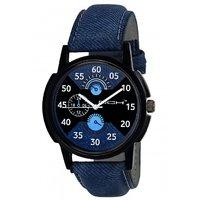 DCH IN-31 Blue Denim Analog Watch For Boys  Men