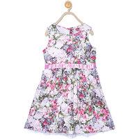 612LEAGUE Girls KIDS WEAR MULTI FLORAL TUNIC DRESSES