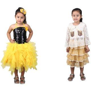 Crazeis Girls Party Wear Dress