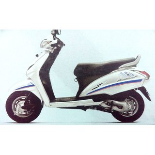 1 Set Scooter Graphics 2 Side Decal Sticker for Hero Maestro