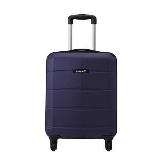 Safari RE-GLOSS-4 Wheel-55-NEW-PURPLE-Antiscratch Unisex Hard Luggage Trolley Bag