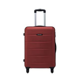 Safari RE-GLOSS-4 Wheel-65-RED-Antiscratch Unisex Hard Luggage Trolley Bag