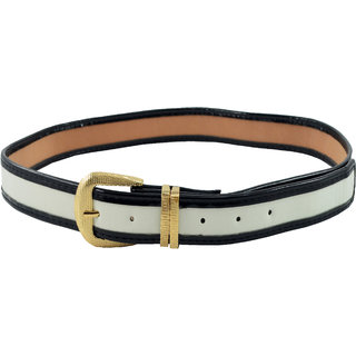 Antiformal Fashion Women Waist Belt In White Colour