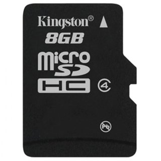 Kingston 8  GB MicroSD Card Class 4 4 MBS Memory Card available at ShopClues for Rs.289