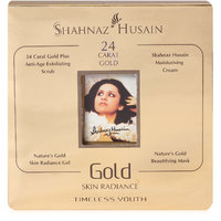 Shahnaz Husain Gold Skin Radiance KIT(100% ORIGINAL NOT COPY FREE SHIPPING)