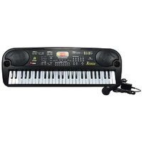 JH TRADERS 54 KEY 5400 MUSICAL PIANO WITH MIC AND ADAPTER