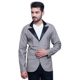 Abc Garments Grey Casual Blazer