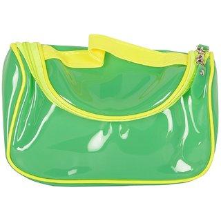 6th Dimensions Unisex Transparent Utility Bag (Green)