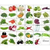 Variety Combo Pack Of 40 Vegetable Seeds For Terrace And Kitchen Gardening By Sap Retailer