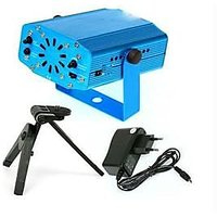 Mini Laser Projector Stage Holographic Light Dj With Free Micro Cleaning Fiber  Worth Of 589/