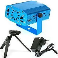 Mini Dj Laser Stage Lighting Light Branded Disco Party Club With FREE Micro Cleaning Fiber Worth Of 589/