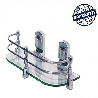SSS-Glass shelf- 18 inches Wall Mounting ABS hook