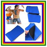 WAIST TRIMMER WAIST BELT WAIST COMPRESSION & HEAT RETENTION BELT FOR WEIGHT LOSS MEN AND WOMEN
