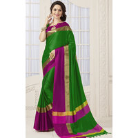 Indian Beauty Art Silk Traditional self Design Saree with blouse (COLORS AVAILABLE)