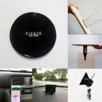 Fixate Gel Pad -Glue Stick Powerful Gel- Car Anti Slip Gel Pad , Dashboard Mobile Holder (Universal) Washable