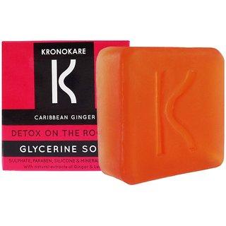 Kronokare - Detox On The Rocks - Glycerine Soap - 100 gm