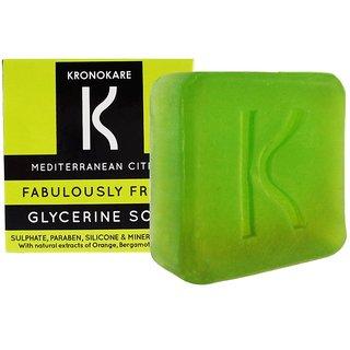 Kronokare - Fabulously Fresh - Glycerine Soap - 100 gm
