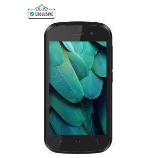 Swipe Konnect Neo 4G, Black [4G VoLTE, Quad Core, Android v6.0 Marshmallow, 5MP Camera] (Black)