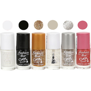 Fashion bar Nail Polish Cool Gel Finish Matte 6 ml