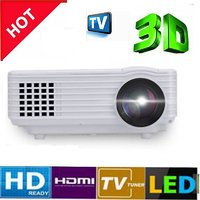 2017 New Edition LED Projector 1080p Full HD - Branded RD805 Portable 800LM Supports HDMI/VGA/AV IN/USB/TV Cable