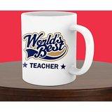 World Best Teacher White Mug
