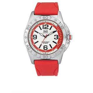 Q&Q Analog Watch - For Men (RED CROZEN) Q790J324Y