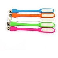 KSJ USB Led Light Pack Of 5 (Assorted Colors)