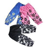 Designer Cotton Girls Capri Set of 3