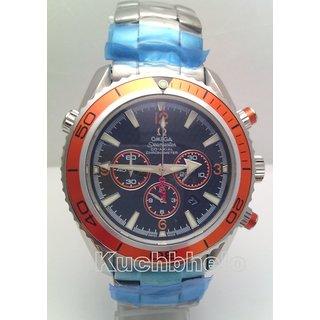 Omega Seamaster Quatom Of Solace Quartz Mens Watch