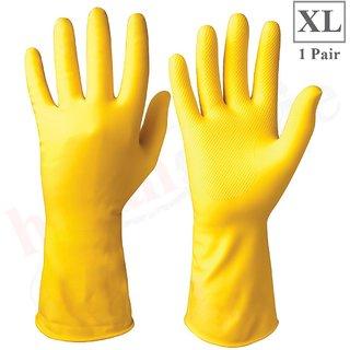 Healthgenie Flocklined Household Multi-Purpose Glove Extra Large (1 Pair)