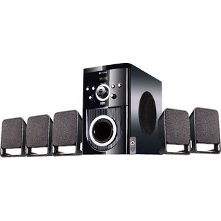 Flow Buzz Bluetooth 5.1 Multimedia Speaker Home Theater System with FM USB AUX Remote