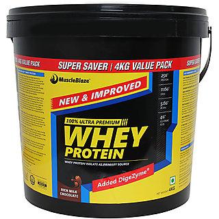 MuscleBlaze Whey Protein 8.8 lb Rich Milk Chocolate