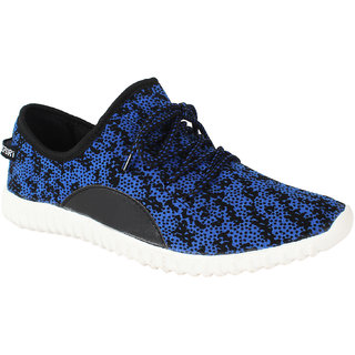 Blinder Mens Blue Casual Sneakers
